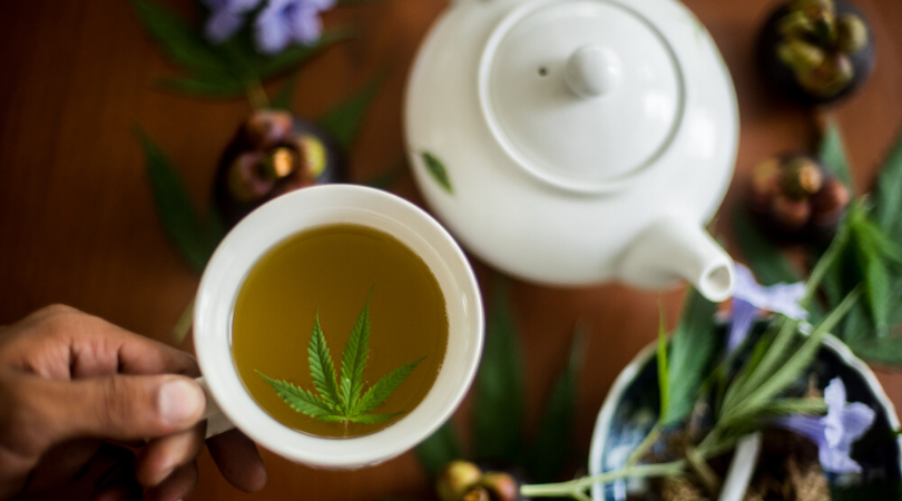 How to Make Weed Tea From Your Leftover Stems