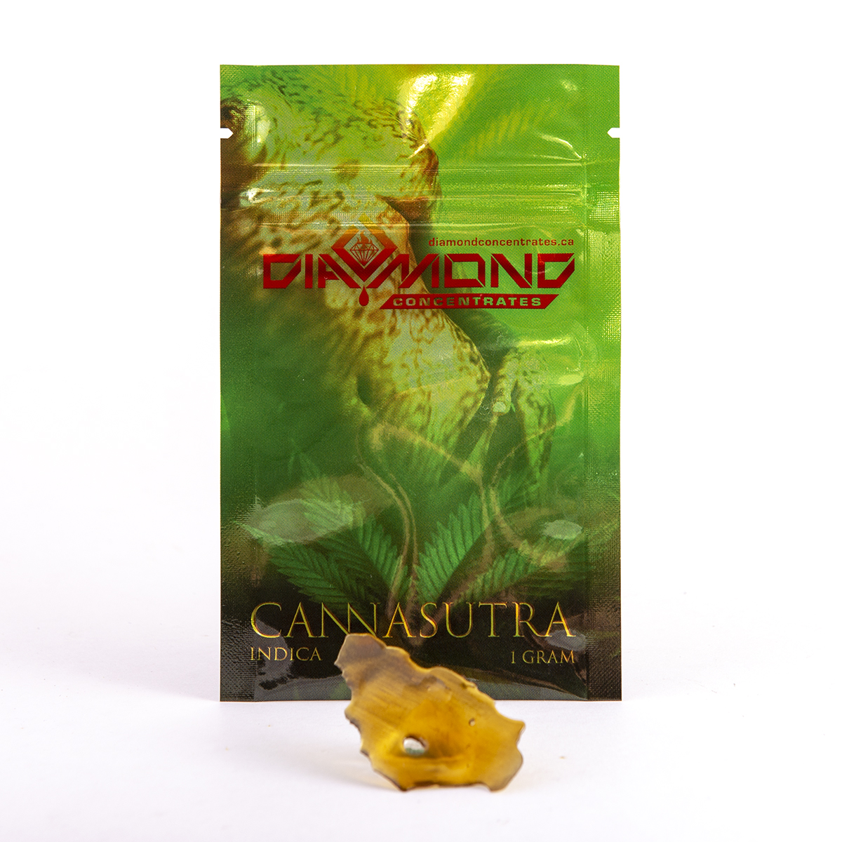 Diamond Concentrates Cannasutra Indica Shatter 1g