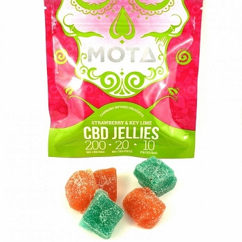 MOTA - CBD Fruit Jellies – 200mg CBD