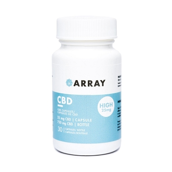 Array CBD Capsules (25mg CBD x 30 caps)
