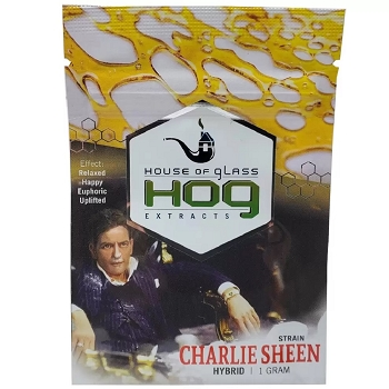 HOG Extracts Charlie Sheen Hybrid Shatter 1g