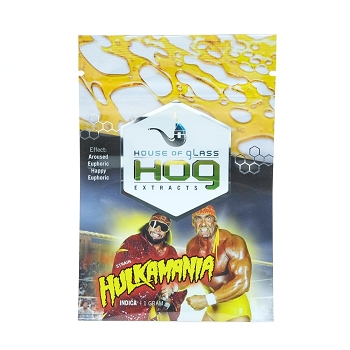 HOG Extracts Hulkamania Indica Shatter 1g
