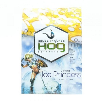 HOG Extracts Ice Princess Hybrid Shatter 1g