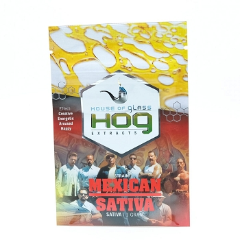 HOG Extracts Mexican Sativa Sativa Shatter 1g