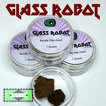 Bentley Fire Hash 1g by Glass Robot