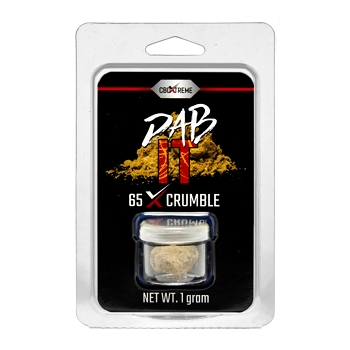65% CBD Crumble 1g by CBDXtreme DABit