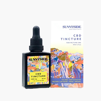 SunnySide Botanicals CBD Tincture 1000mg - 30ML