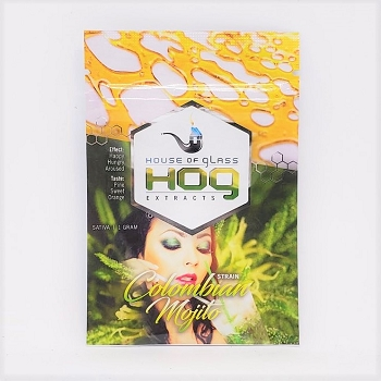 HOG Extracts Colombian Mojito Sativa Shatter 1g