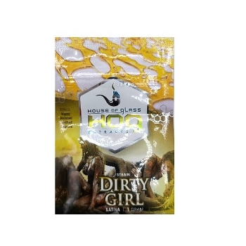 HOG Extracts Dirty Girl Sativa Shatter 1g