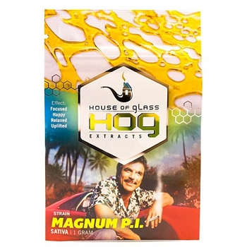 HOG Extracts Magnum P.I. Sativa Shatter 1g