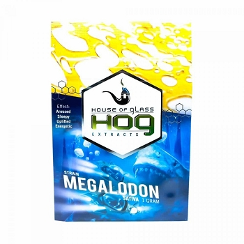 HOG Extracts Megalodon Sativa Shatter 1g