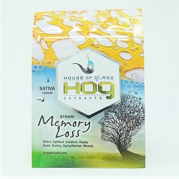 HOG Extracts Memory Loss Sativa Shatter 1g