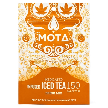 MOTA Iced Tea Mix - 150mg THC
