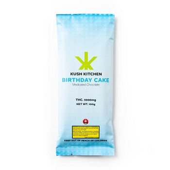 Kush Kitchen Birthday Cake Chocolate Bar - 1000mg THC