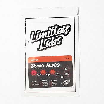 Limitless Labs Double Bubble Sativa Shatter 1g