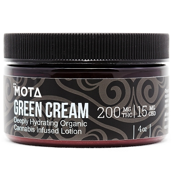 MOTA Green Cream – 200mg THC