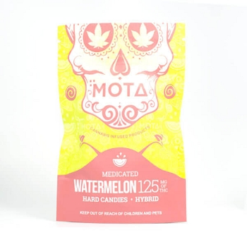 Mota Hard Candies - Watermelon 125mg THC (Hybrid)
