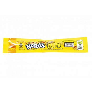 Medicated Nerds Rope 400mg THC - Lemonade Wild Cherry