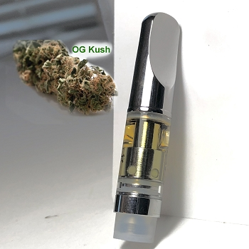 Leaf2Go Premium Distillate Vape Cartridge 0.5g - OG Kush