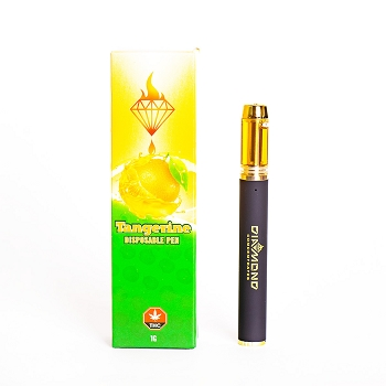 Diamond Concentrates Distillate Pen 1 Gram - Tangerine