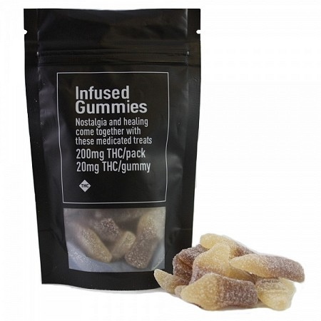 Infused OG Cola Bottle Gummies by tjuice – 200mg THC