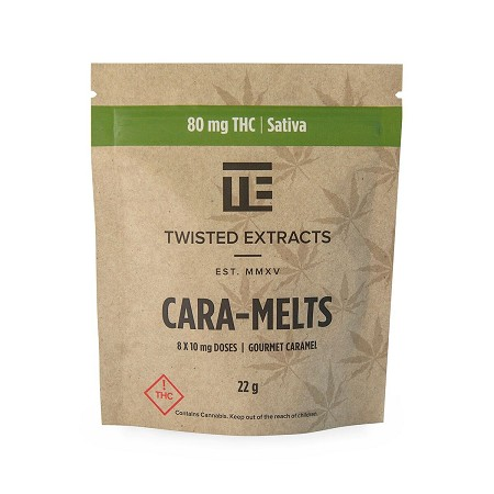 Twisted Extracts Cara-Melts – Sativa (80mg THC)