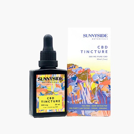 SunnySide Botanicals CBD Tincture 500mg - 30ML