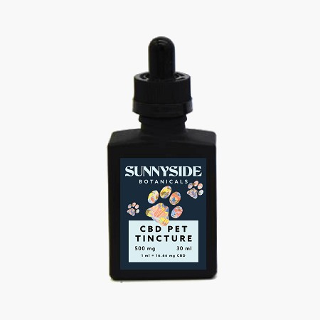 SunnySide Botanicals CBD Pet Tincture 500mg - 30ML